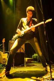 Álvaro Luna, cantante y guitarrista de Yellow Big Machine, Bilborock