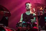 Rubén Santos, baterista de Marcos Sendarrubias, Kafe Antzokia. 2014