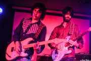 Guille Calleja y Chus Santos, guitarristas de The Magic Teapot, Santana 27, 2014