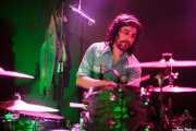 Lázaro Anasagasti, baterista de The Magic Teapot, Santana 27, 2014
