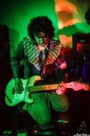 Guille Calleja, guitarrista de The Magic Teapot, Santana 27, 2014