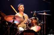 Alberto Chamorro, baterista de Los Brazos, Kafe Antzokia, 2014