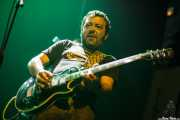 Javier Rivero, guitarrista de Bugatti, Kafe Antzokia, 2014