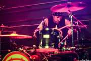 "Karl ""Rockfist"" Rosqvist, baterista de Michael Monroe Band, Sala Sonora, 2014"