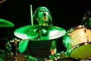 Andoni Etxebeste, baterista de Frank, Intxaurrondo K.E., 2014