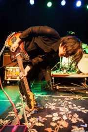 Youkaku, guitarrista y cantante de ZZZ's, Intxaurrondo K.E., 2014