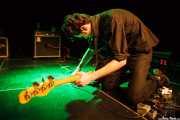 Leo Kurunis, bajista de Gallon Drunk, Intxaurrondo K.E., 2014