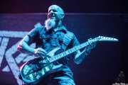 Scott Ian, guitarrista de Anthrax, Bilbao Exhibition Centre (BEC), 2014