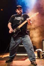 Brad Coffin, guitarrista de Five Horse Johnson, Kafe Antzokia, 2014