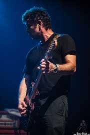 Phil Durr, guitarrista de Five Horse Johnson, Kafe Antzokia, 2014