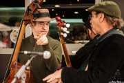 Doc Scanlon y Peter Davis, de Doc Scanlon's Hot 4, Gastroswing - Sancho el Sabio, 2014