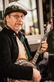 Peter Davis, banjo de Doc Scanlon's Hot 4, Gastroswing - Sancho el Sabio, 2014