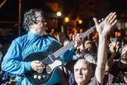 """Jeff Walls """"The Flesh Hammer"""", guitarrista de The Woggles (Andoaingo Rock Jaialdia, Andoain, 2014)"""