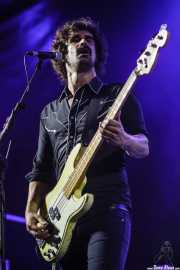 Pablo Pérez, bajista de The Bellrays, Andoaingo Rock Jaialdia, 2014