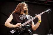 Iñaki Nogueras, guitarrista de 13 Left to die, Azkena Rock Festival, 2014