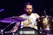 Steve Kiely, baterista de Monster Truck, Azkena Rock Festival, 2014