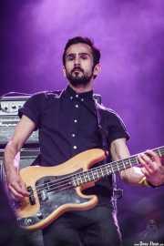 Bajista de Hudson Taylor, Azkena Rock Festival, 2014
