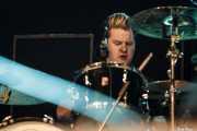 Jim MacAulay, baterista de The Stranglers, Azkena Rock Festival, 2014