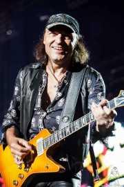 Matthias Jabs, guitarrista de Scorpions, Azkena Rock Festival, 2014