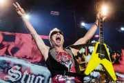 Rudolf Schenker, guitarrista de Scorpions, Azkena Rock Festival, 2014