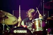 Blake Davies, baterista de Turbowolf, Azkena Rock Festival, 2014