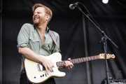 Paul Sayer, guitarrista de The Temperance Movement, Azkena Rock Festival, 2014