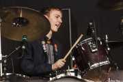 Evan Walsh, baterista de The Strypes, Azkena Rock Festival, 2014