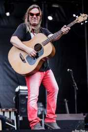 Brian Ritchie, bajista de Violent Femmes, Azkena Rock Festival, 2014
