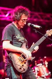 "Luis Poveda ""Lupo"", guitarrrista y cantante de Bluenáticos, Azkena Rock Festival, 2014"