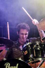 Evan Diprima, baterista de Royal Thunder, Azkena Rock Festival, 2014