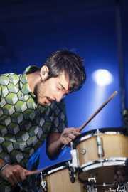 Pucho, cantante de Vetusta Morla, Bilbao BBK Live, 2014