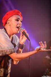 Rouge Mary, cantante de Hercules & Love Affair, Bilbao BBK Live, 2014