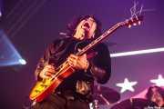 Edgey Pires, guitarrista de The Last Internationale, Bilbao BBK Live, 2014