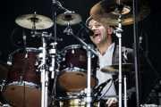 Nigel Powell, baterista de Frank Turner & The Sleeping Souls, Bilbao BBK Live, 2014