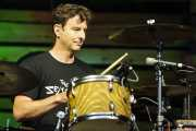 Adam Topol, baterista de Jack Johnson, Bilbao BBK Live, 2014