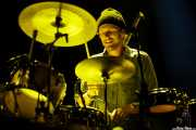 Mark Pontius, baterista de Foster the People, Bilbao BBK Live, 2014