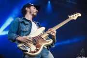 Bill Reynolds, bajista de Band of Horses, Bilbao BBK Live, 2014