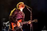 Dan Auerbach, cantante y guitarrista de The Black Keys, Bilbao BBK Live, 2014