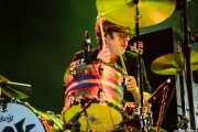 Patrick Carney, baterista de The Black Keys, Bilbao BBK Live, 2014