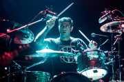 Mike Cambra, baterista de Adolescents, Kafe Antzokia, 2014
