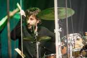Damon Wilson, baterista de Ray Davies, Donostiako Jazzaldia - Zurriola, 2014