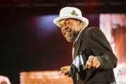 Steve Boyd, cantante de George Clinton's Parliament Funkadelic, Donostiako Jazzaldia - Zurriola, 2014
