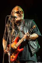 """Michael """"Kidd Funkadelic"""" Hampton, guitarrista de George Clinton's Parliament Funkadelic, Donostiako Jazzaldia - Zurriola, 2014"""
