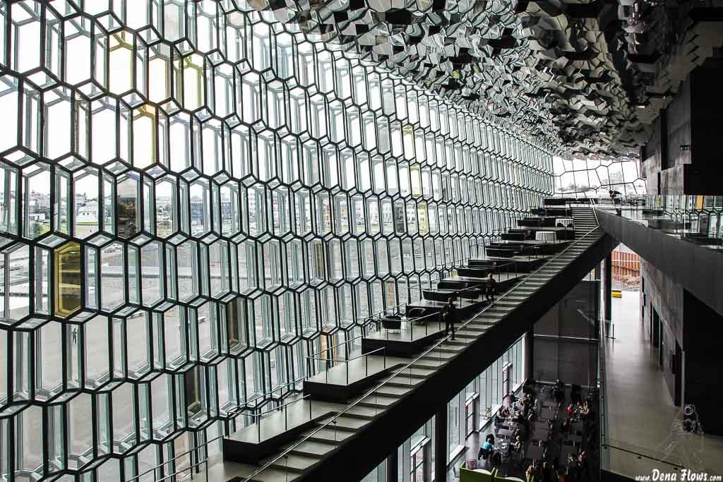 Harpa Concert hall & Conference centre (Henning Larsen Architects & Olafur Eliasson, 2011), Reikiavik, Islandia, 2014