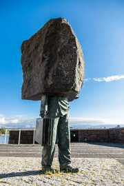 Escultura Everyman, Reikiavik, Islandia, 2014