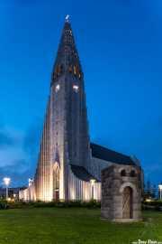Hallgrimskirche (Guðjón Samúelsson, 1986), Reikiavik, Islandia, 2014