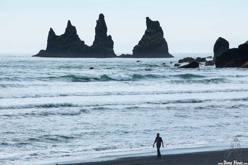 Rocas de la Playa de Vík í Mýrdal, Islandia, 2014