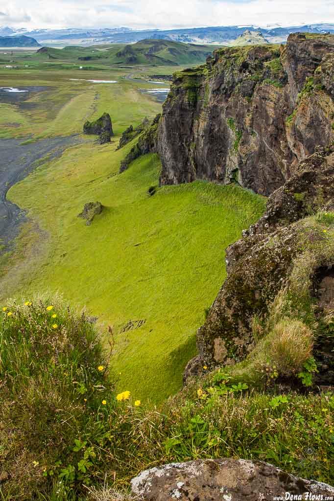 Playa y acantilados de Dyrhólaey, Islandia, 2014