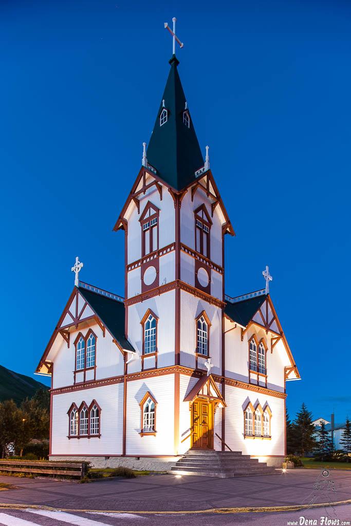 Iglesia de Húsavík, Islandia, 2014