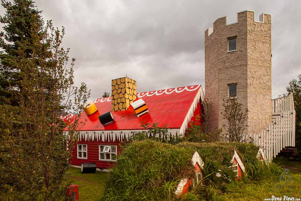 Jólagarðurinn - El jardín de la navidad, Akureyri, Islandia, 2014
